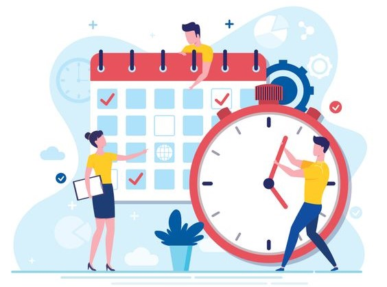 planning and managing your time while studying for exams